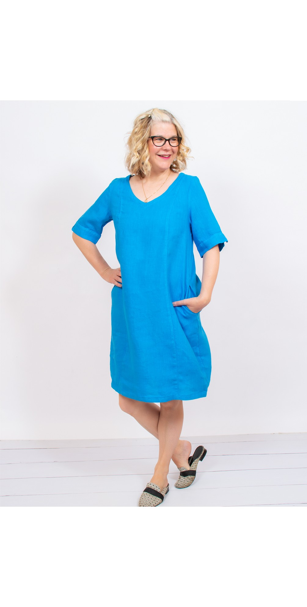 Arolla Arachon Linen Dress  main image