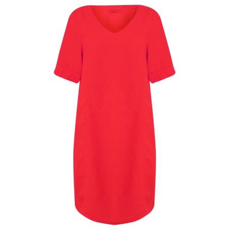Mes Soeurs et Moi Arolla Arachon Linen Dress  - Red