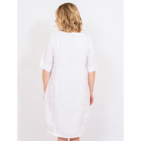 Mes Soeurs et Moi Arolla Arachon Linen Dress  - White
