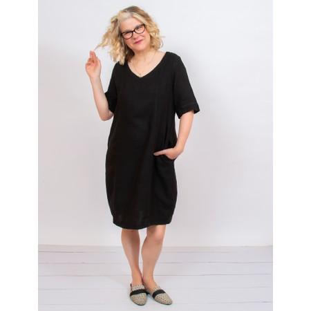 Mes Soeurs et Moi Arolla Arachon Linen Dress  - Black