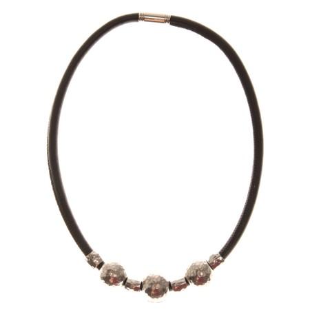Strata Louisiana Short Necklace - Black