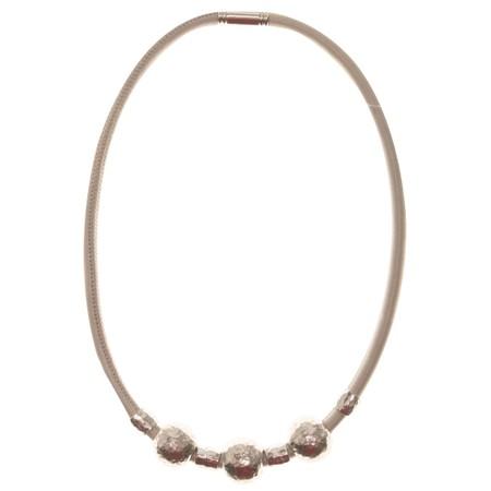 Strata Louisiana Short Necklace - Grey