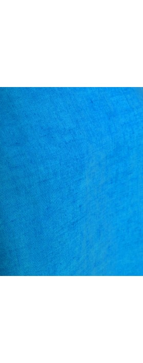 Mes Soeurs et Moi Artisan Arachon Linen Cap Sleeve Top  Cyan