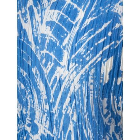 Adini Brushstroke Print Codi Top - Blue