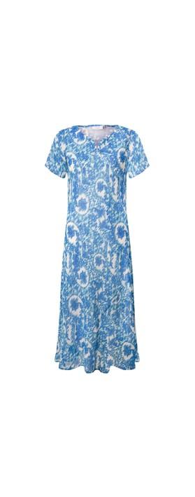 Adini Polly Dress Marine Blue