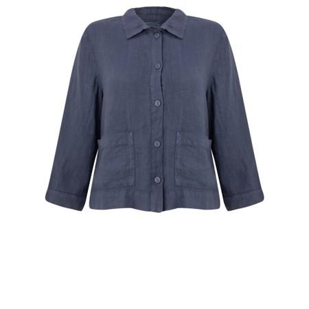 Mes Soeurs et Moi Argan Arachon 2 Pocket Jacket - Blue