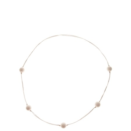 Etnika Cosmic Long Necklace - White