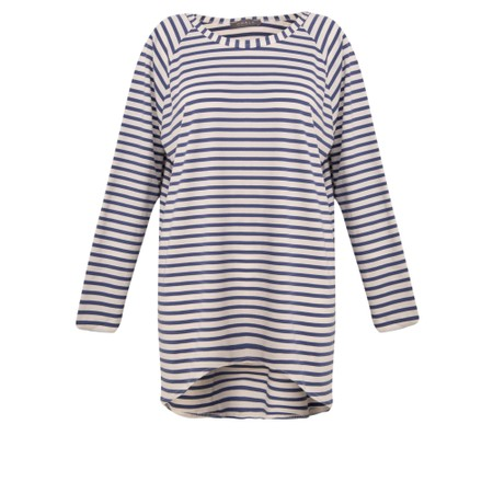 Chalk Robyn Stripe Top - Blue