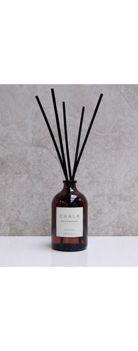 Chalk Home Black Pomegranite Amber Apothocary Diffuser Black Pomegranate