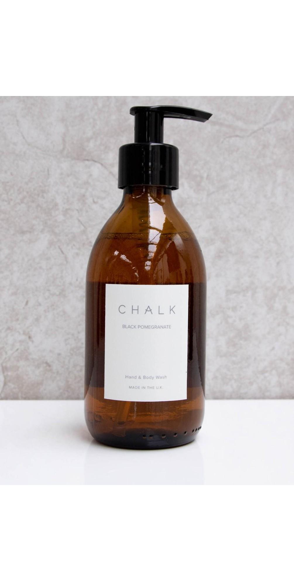 Black Pomegranite Amber Apothocary Hand Wash Pump main image
