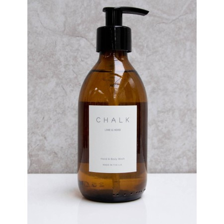 Chalk Home Lime and Herb Amber Apothocary Hand Wash Pump - Green