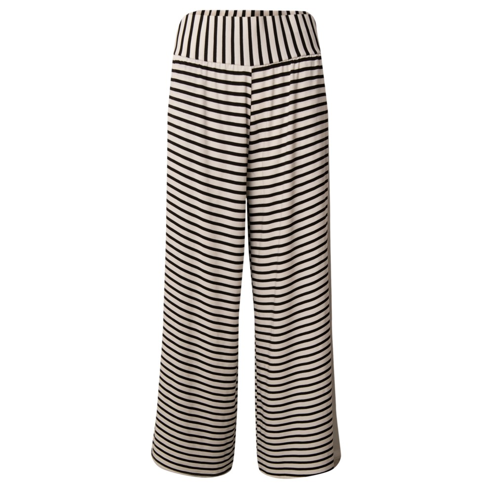 Chalk Luna Pant Black / White