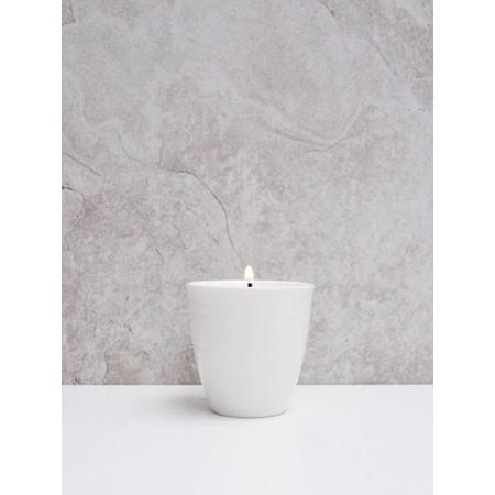 Chalk Home Porcelain Pot  - White