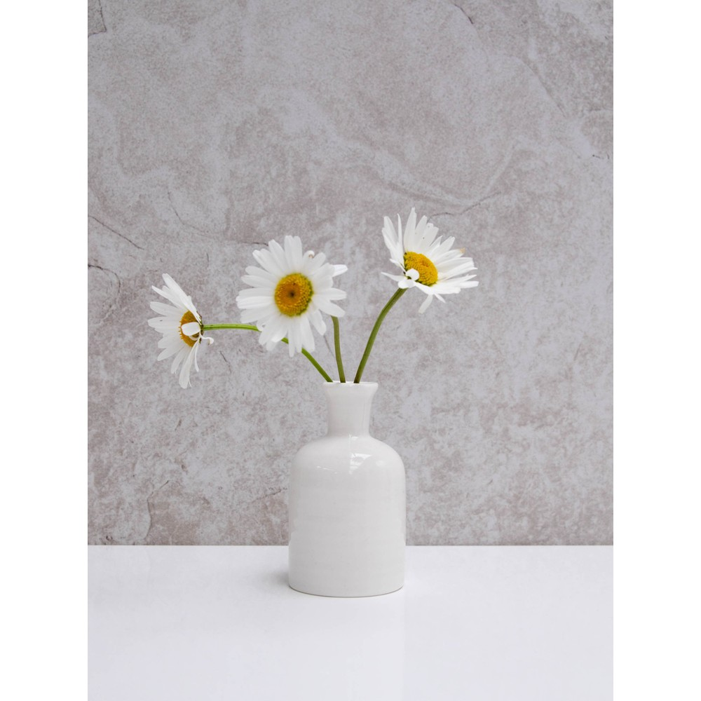 Chalk Home Porcelain Vase  White