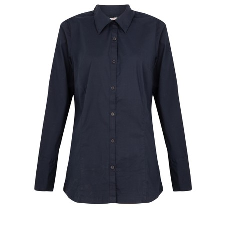 Amazing Woman  Micha Long Classic Shirt with Cuff Detail - Blue