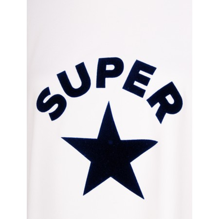 Chalk Robyn Super Star Top - White