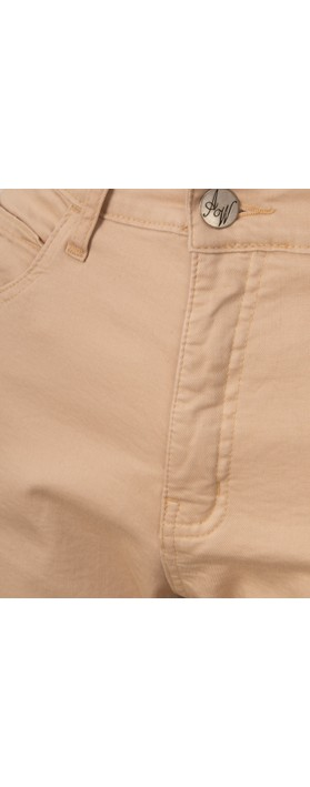 Amazing Woman  Moonlite 09 Superstretch Slimfit Crop Trouser Beige