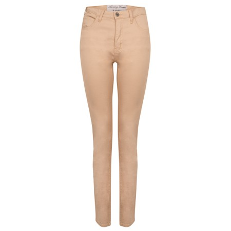 Amazing Woman Moonlite 02 Slimfit Cotton Stretch Jean  - Beige