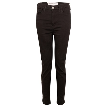 Amazing Woman  Moonlite 12 Superstretch Cotton Skinny Fit Trousers - Black