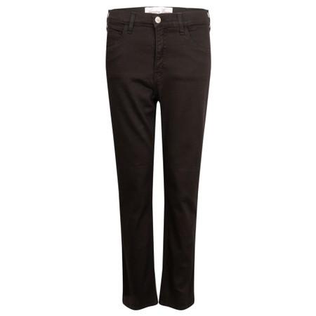 Amazing Woman  Moonlite 04 Superstretch Slimfit 3QTR Trouser - Black