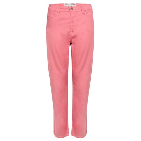 Amazing Woman  Moonlite 04 Superstretch Slimfit 3QTR Trouser - Pink