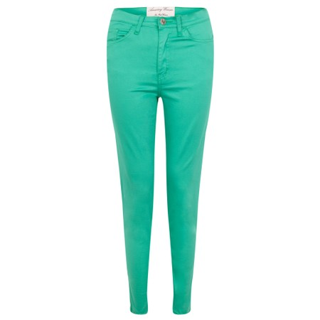 Amazing Woman  Moonlite 12 Superstretch Skinny Fit Ankle Grabber - Green