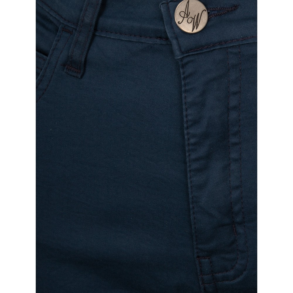 Amazing Woman Moonlite 02 Slimfit Cotton Stretch Jean  Navy