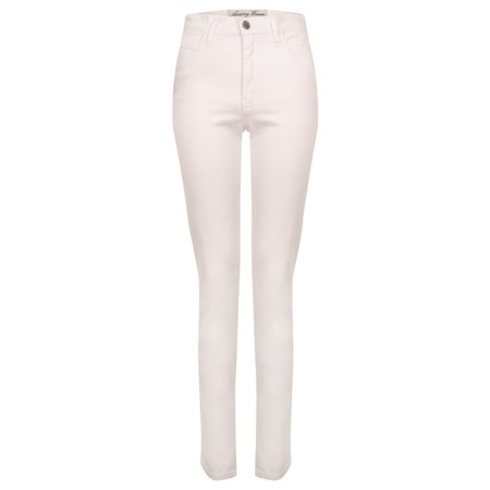 Amazing Woman  Moonlite 02 Slimfit Cotton Stretch Jean  - White