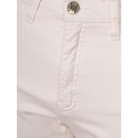 Amazing Woman  Moonlite 02 Slimfit Cotton Stretch Jean  - White