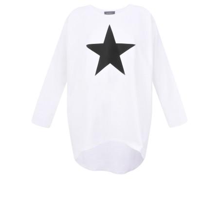 Chalk Robyn Star Top - Black