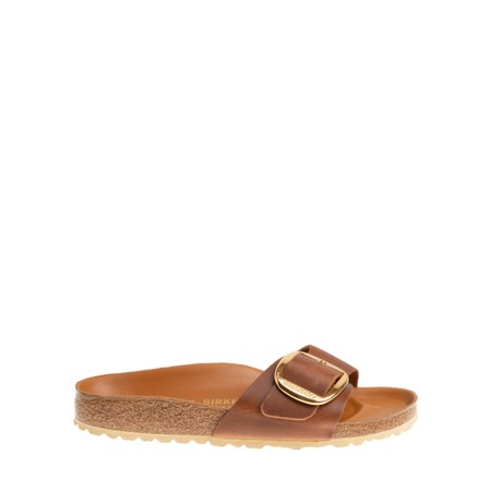 Birkenstock Madrid Big Buckle Sandal - Brown