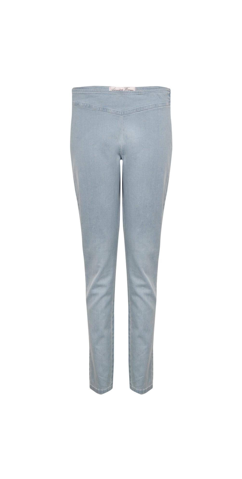 Moonlite 14 Superstretch Skinny Fit Side Zip Jean main image