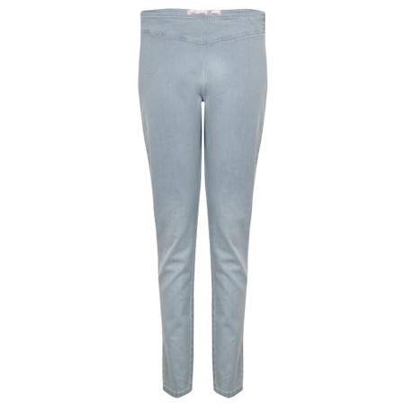 Amazing Woman  Moonlite 14 Superstretch Skinny Fit Side Zip Jean - Blue