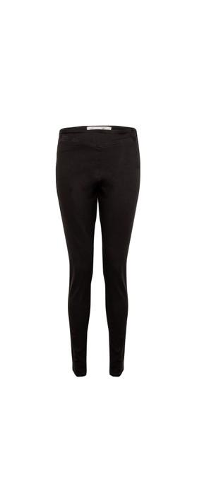 Amazing Woman Moonlite 14 Superstretch Skinny Fit Side Zip Jean Stonewash Black