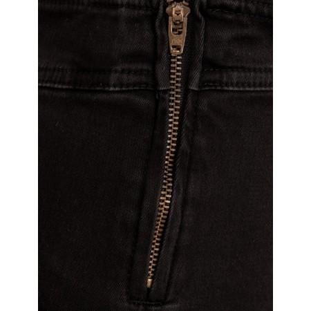 Amazing Woman  Moonlite 14 Superstretch Skinny Fit Side Zip Jean - Black