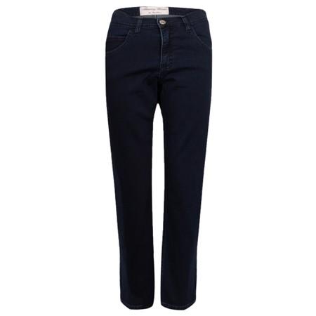 Amazing Woman  Moonlite 04 Superstretch Slimfit 3QTR Trouser - Blue