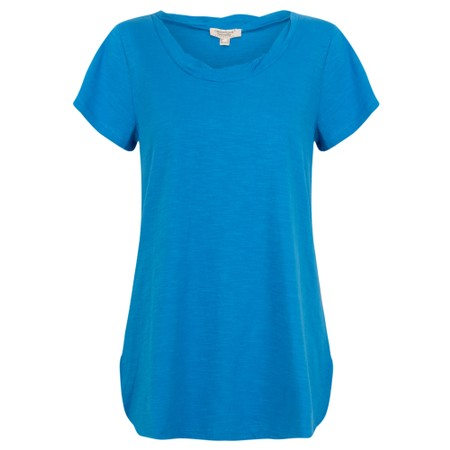 Orientique Essential Cotton Tee Top - Blue