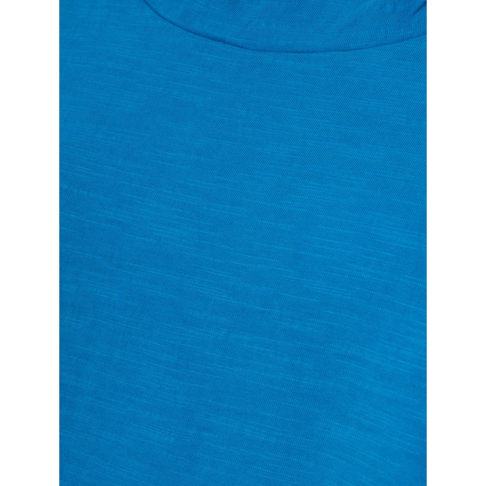 Orientique Essential Cotton Tee Top Marine Blue