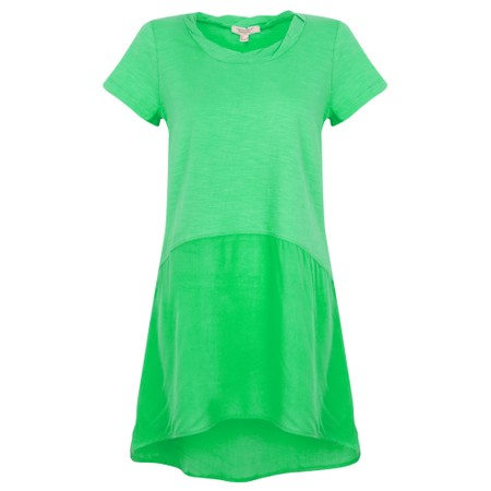 Orientique Essential Short Sleeve Tunic Top  - Green