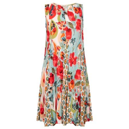 Orientique Kefalonia Godet Dress - Multicoloured