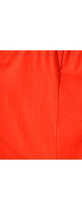 Orientique Bangalene Capri Trouser Red