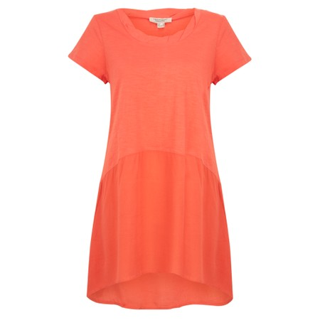 Orientique Essential Short Sleeve Tunic Top  - Orange