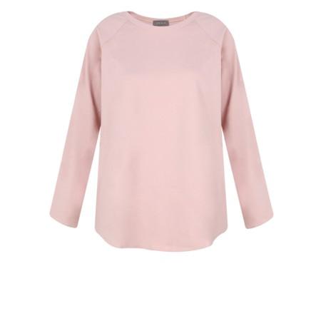 Chalk Tasha Plain Jersey Top - Pink
