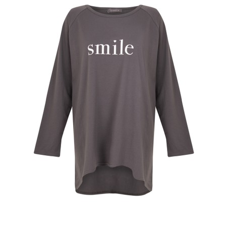 Chalk Robyn Smile Top - Grey