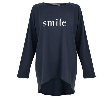 Chalk Robyn Smile Top - Blue