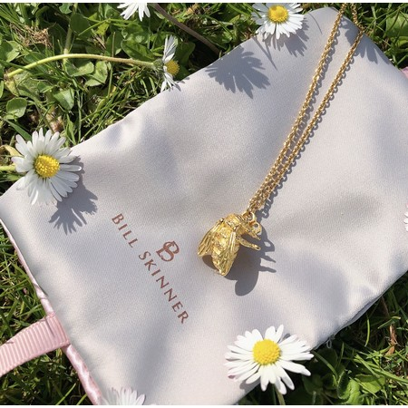 Bill Skinner Baby Bee Pendant Necklace - Gold