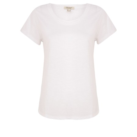 Orientique Essential Short Sleeve Top  - White