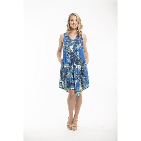 Orientique Agenia Reversible Dress - Blue