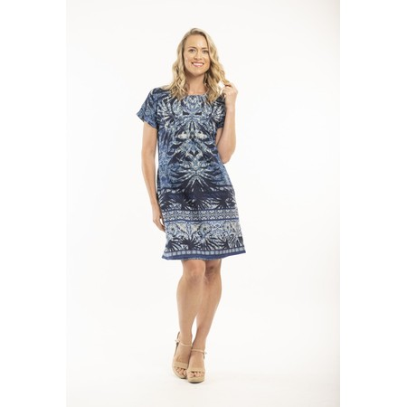 Orientique Andros Reversible Dress - Blue