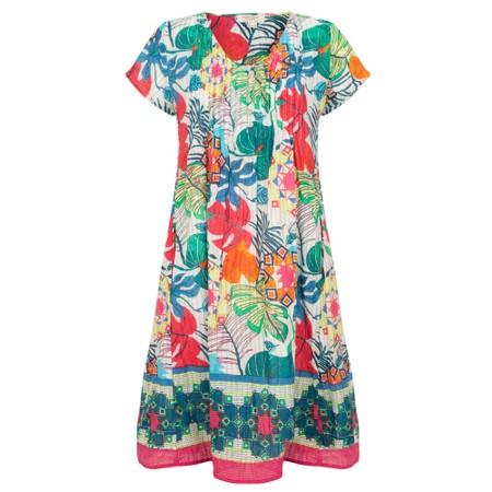 Orientique Paradise Ezy Crinkle Dress - Multicoloured